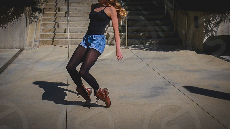 A little dance in the city photo