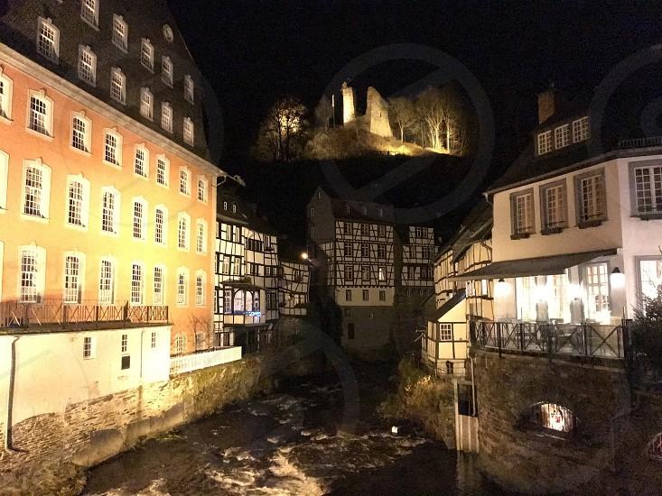 Monschau at night  photo