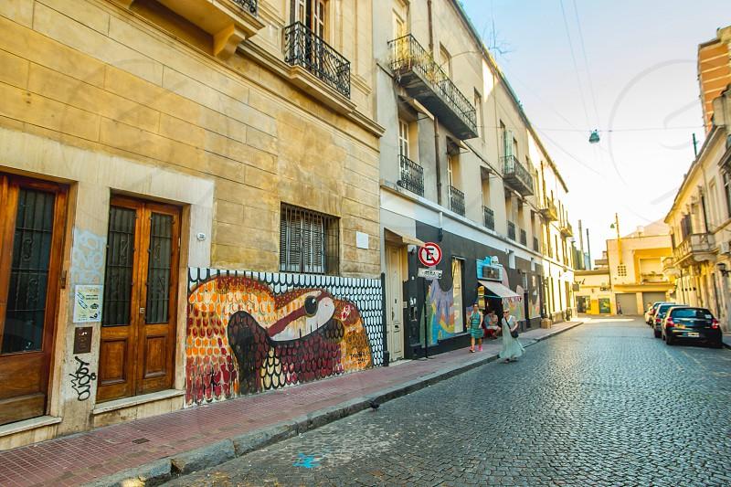 Art in the walls of san Telmo photo