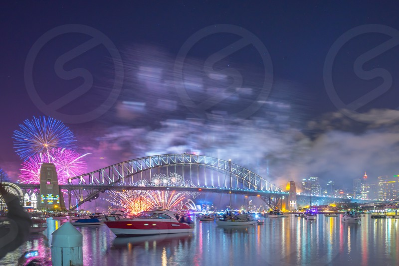 Sydney New Year eve Fireworks photo