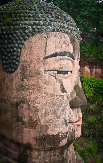 Giant Buddha China photo