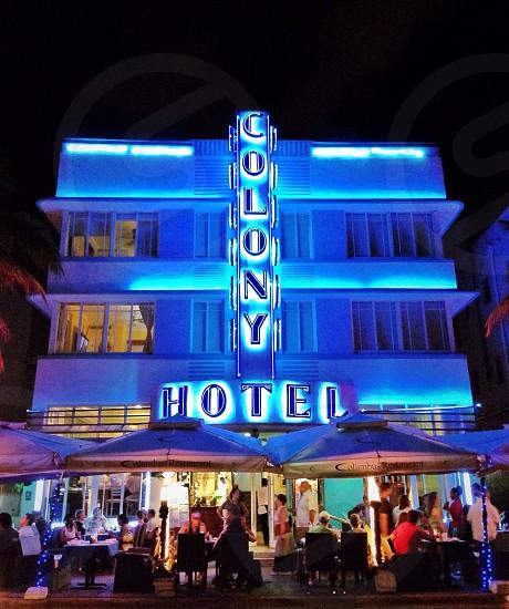 colony hotel photo