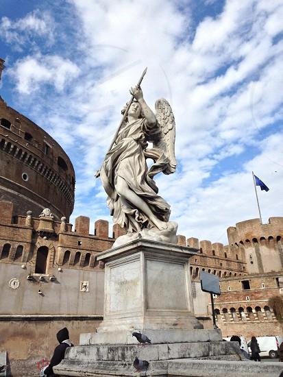 Bridge of Angels Rome Italy  photo