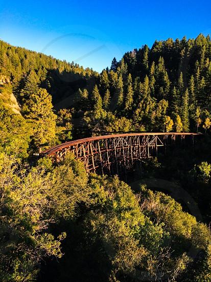 Cloud-climbing railroad cloudcroft new mexico photo