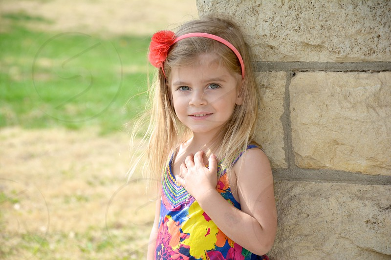 Child Cover  Spring Session Main Post Fort Riley KS  photo