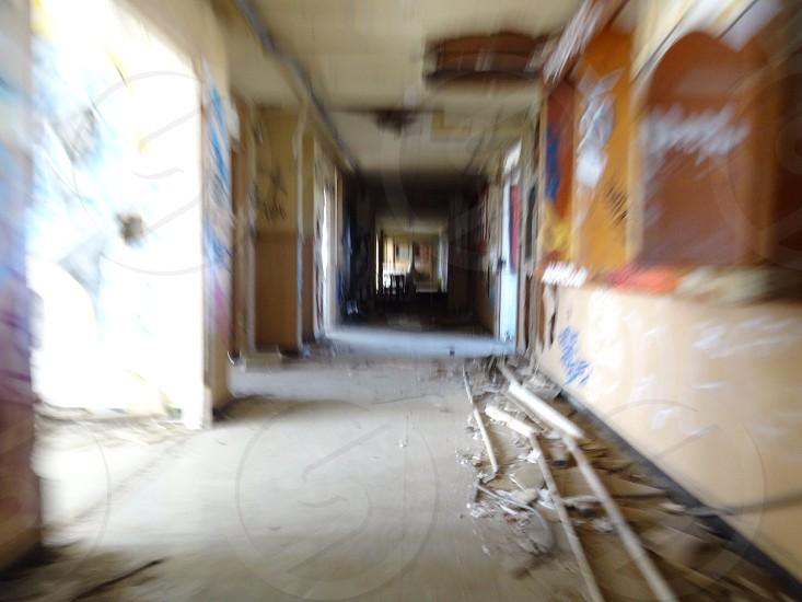 white floored hallway interior  photo