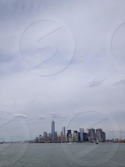 Downtown New York City skyline photo