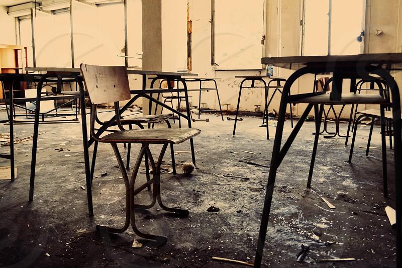 Abandoned classroom Steglitz photo