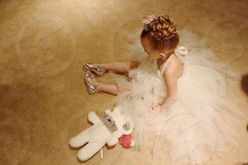 flower girl for a day  photo