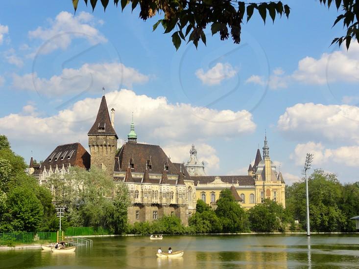 Castle Vajdahunyad Budapest photo