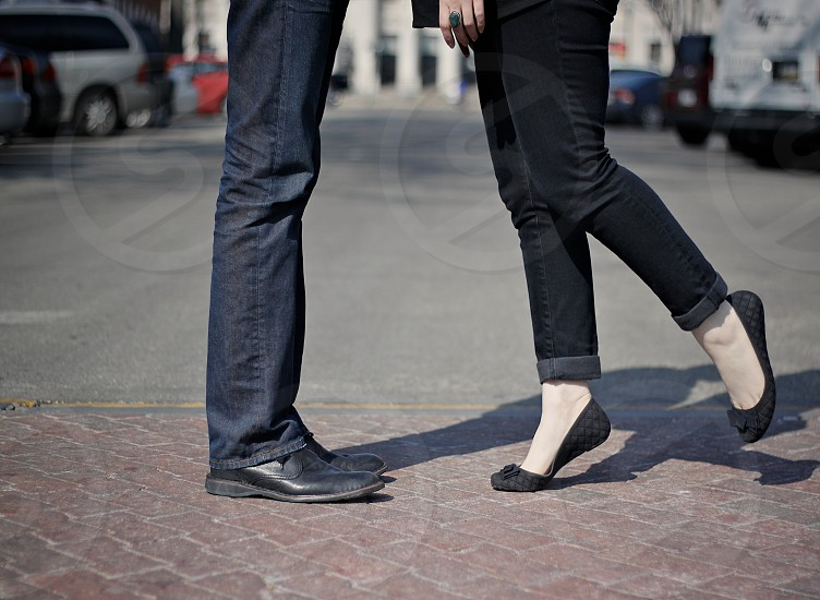 couple jeans photo photo