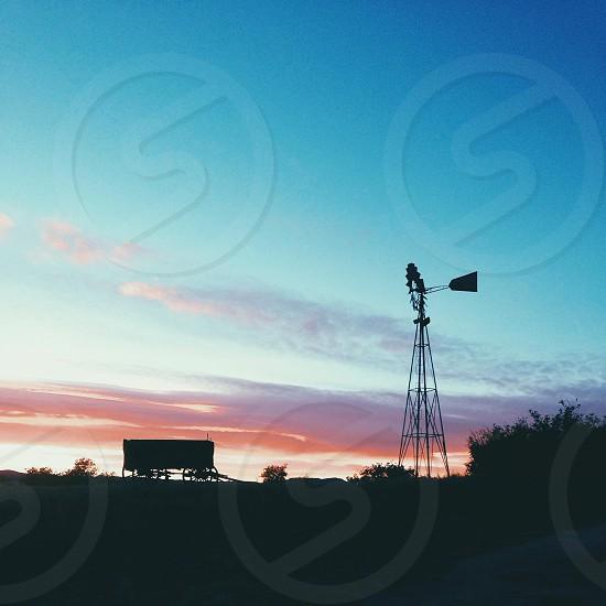 metal windmill photo
