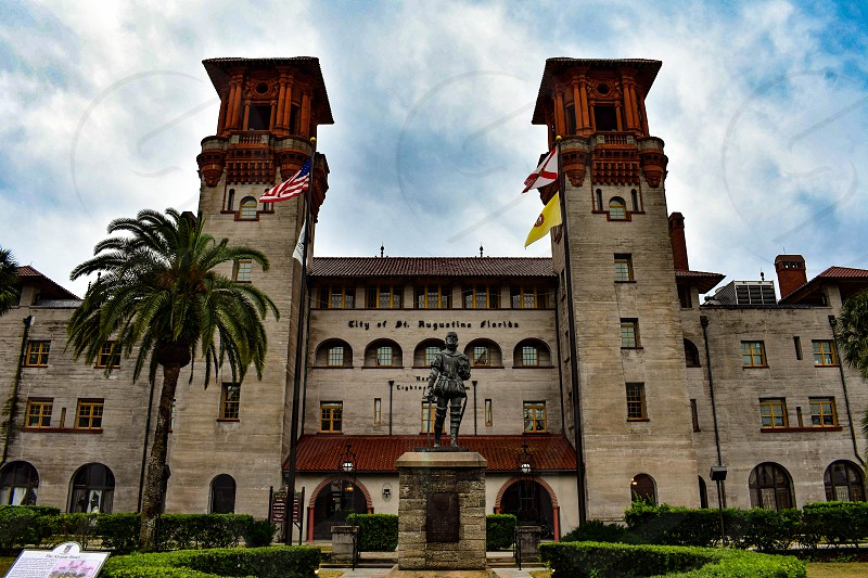 St. Augustine Florida. January 26  2019. Lightner Museum Old The Alcazar Hotel  in Florida's Historic Coast . photo