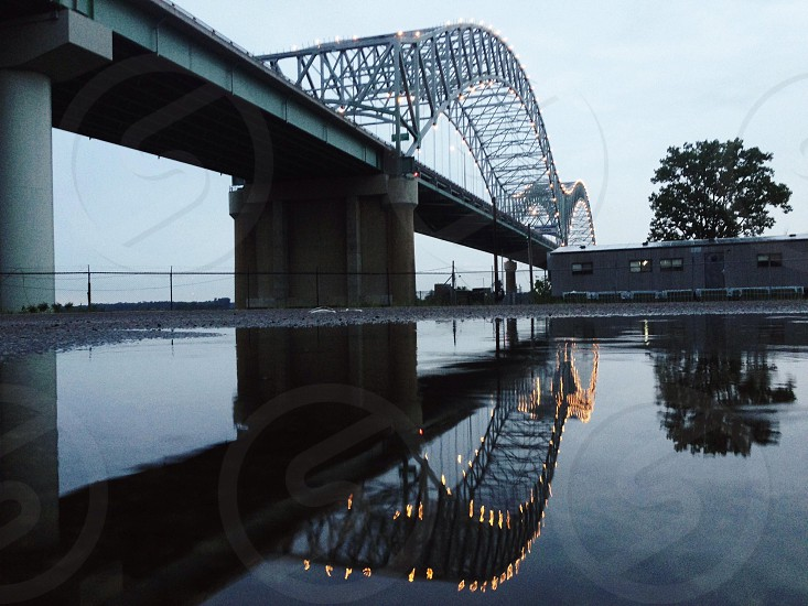 gray concrete bridge photo