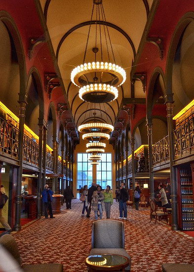 The old Chicago Law Library located in the 190 S Lasalle Building  photo