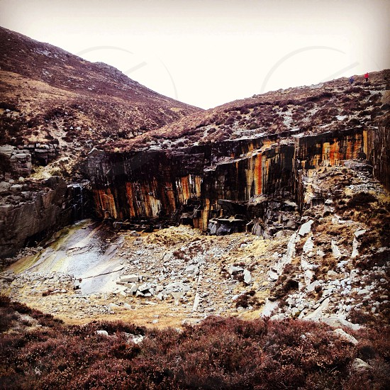 Quarry Mourne Mountains Northern Ireland photo