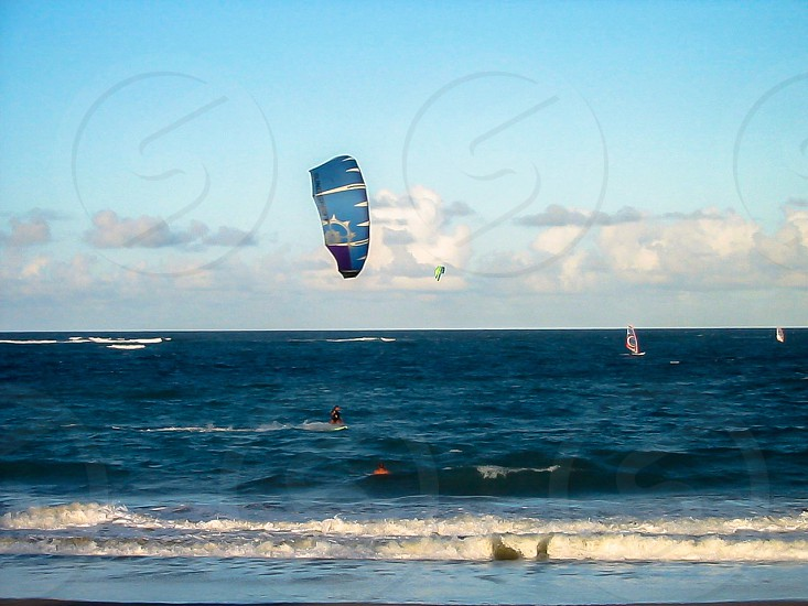 Kite surfer photo