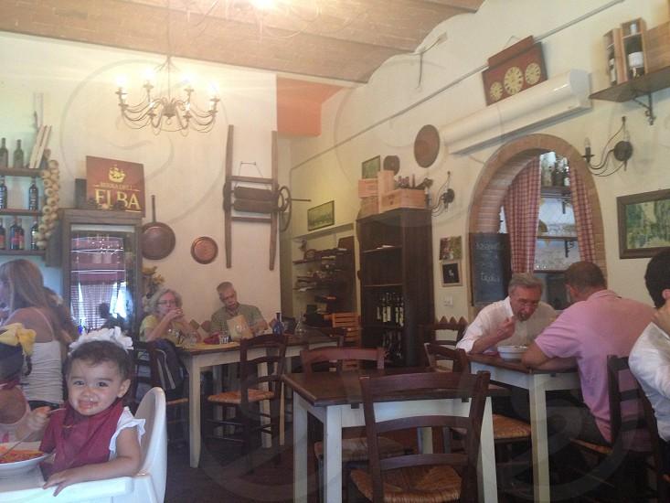 Little Italian restaurant in Pisa  photo