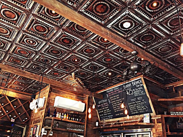 one tin ceiling photo