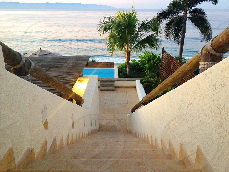 stairway to the ocean photo