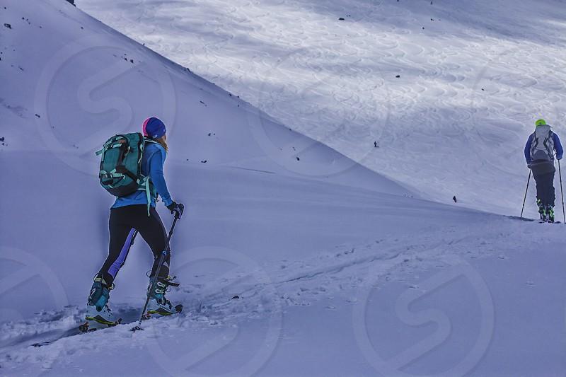 Skitouring photo