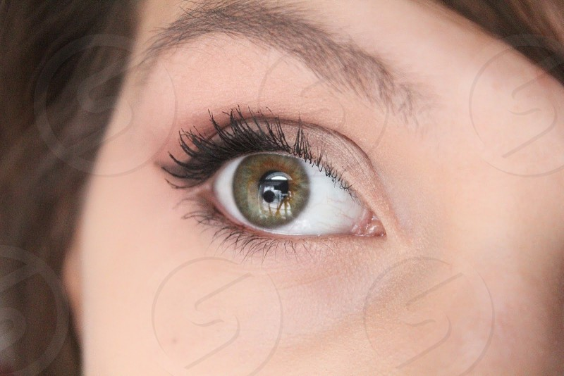 woman right eye photo