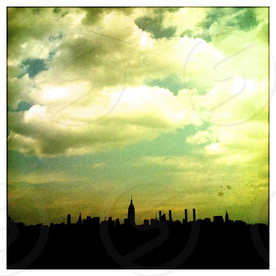 new york city skyline /USA photo