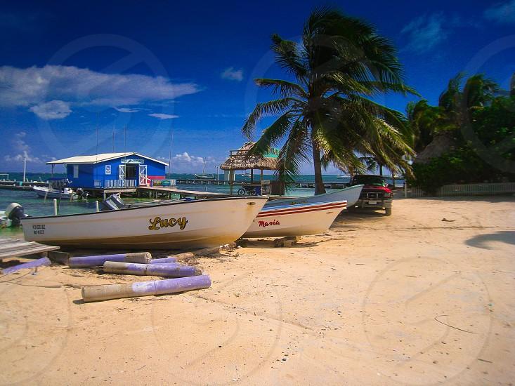 Ambergris key Belize  photo