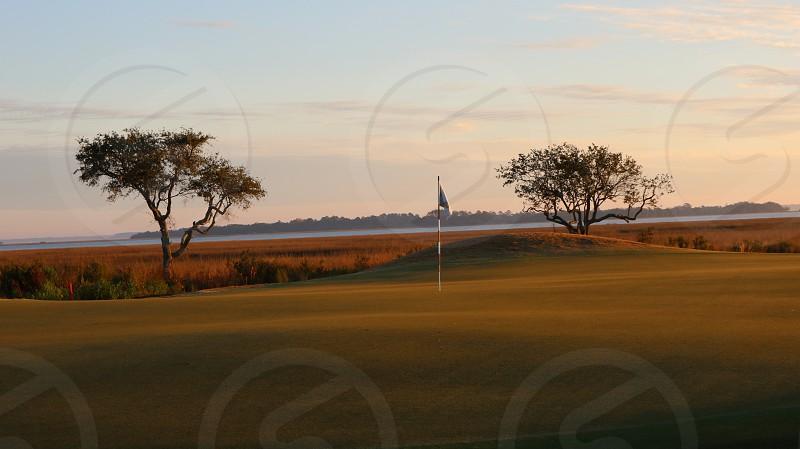 Golf on spring break  photo