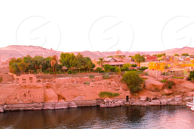 resort in an nubian island photo