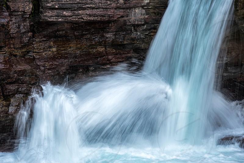 St Mary Falls photo