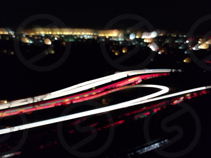 city night lightview  photo