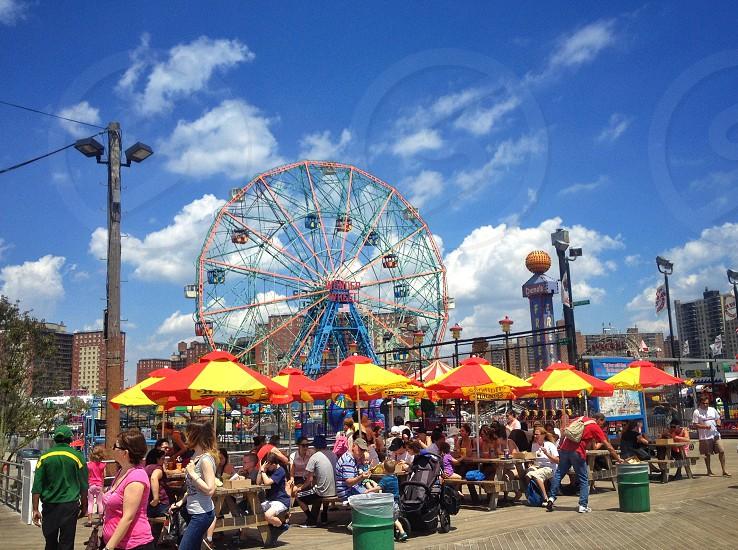 Coney Island.  photo