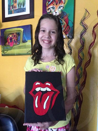 She love Paint! photo