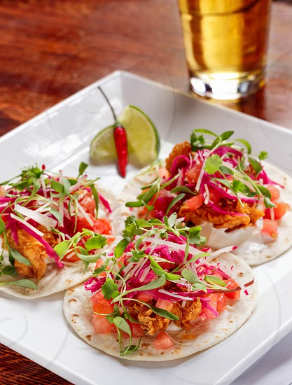 The Prospect Entree: Chicken Tacos photo