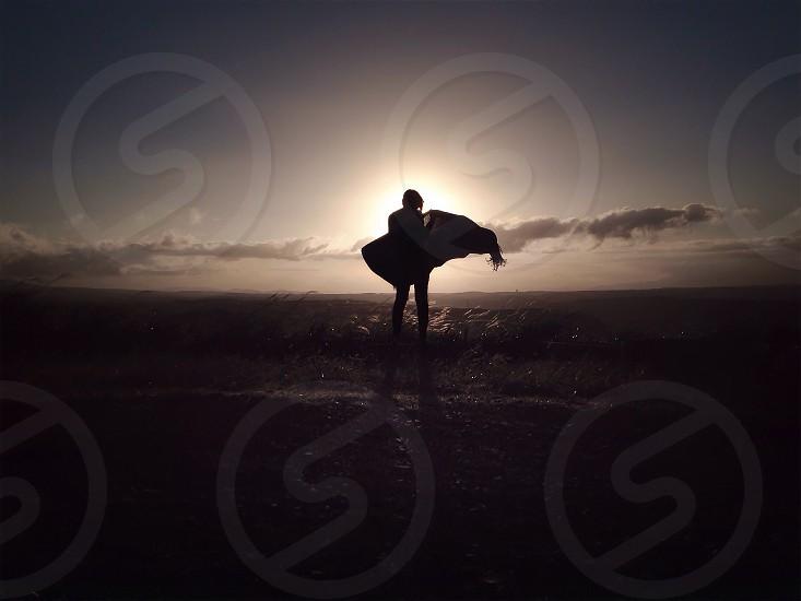 human body silhouette photo