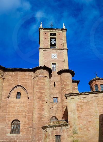 Najera Plaza Mayor The way of Saint James in La Rioja of Spain photo