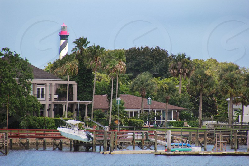 St. Augustine Florida Lighthouse Oceanfront photo