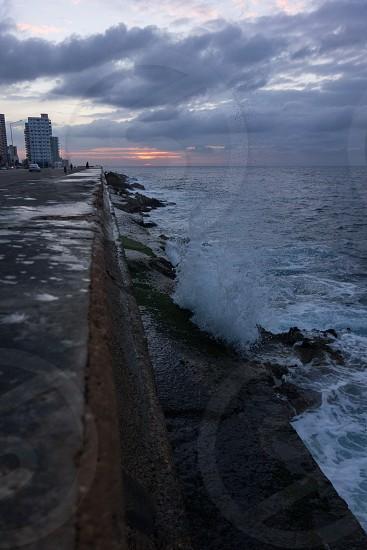 Malecon in Havana Cuba. photo