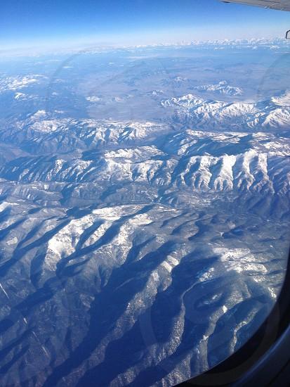 Montana mountains photo