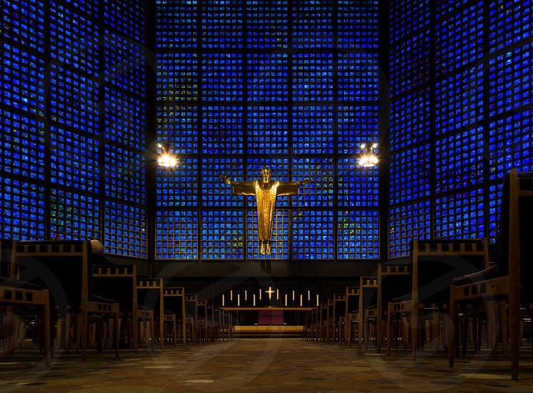 Kaiser Wilhelm Memorial Church Berlin Germany photo