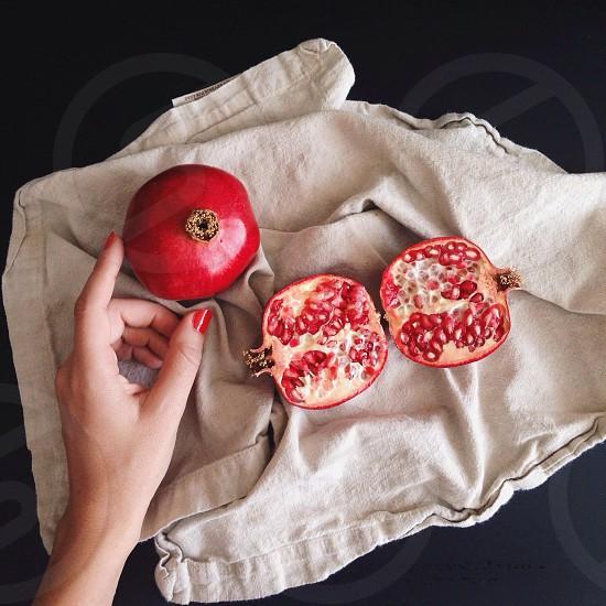 pomegranate fruit photo