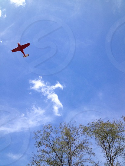 red plane photo