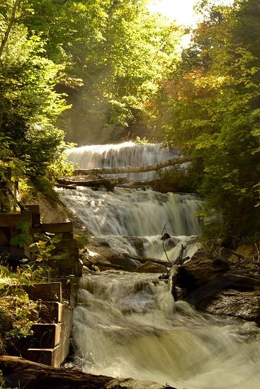 waterfalls National Parks Michigan photo