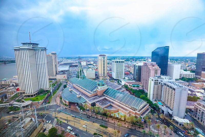 cityLouisianaNew OrleansUSAskybluebuildingbuildingsmetropolissceneryscenichorizonday photo