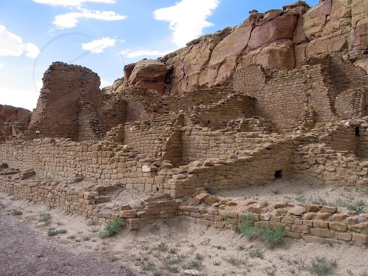Chaco Canyon New Mexico photo