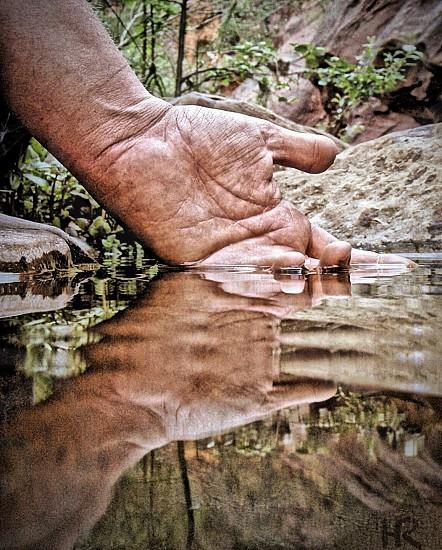 """Healing Waters""  Still waters in Sedona AZ photo"