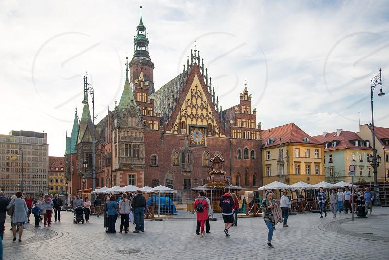 Town hall in Wrocław Poland photo