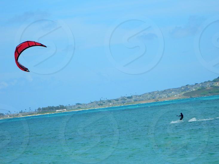 Wind Surfing @ LaniKai Beach Kailua HI photo