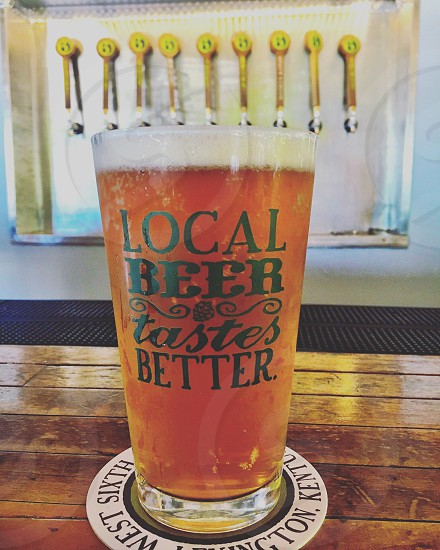 Beer brewery local drink bar drinks shop food photo